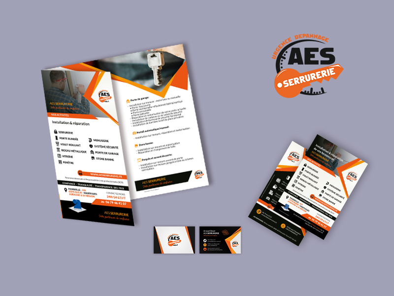 Communicationprint AES Serrurerie